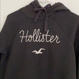 Hollister hoodie medium black